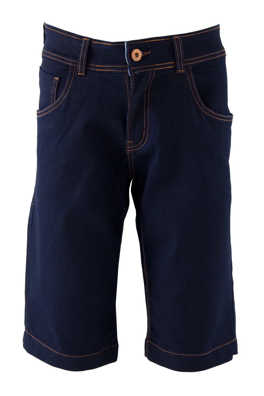 Bermuda Masculina Confort Black Jeans - R$69,99 - [BLACK209]