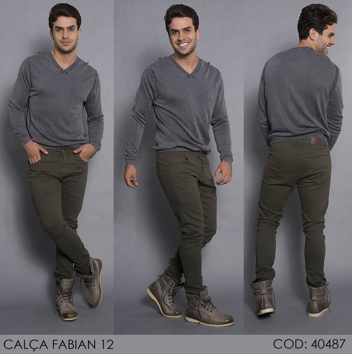 Calça Darlook Denim Fabian [40487]