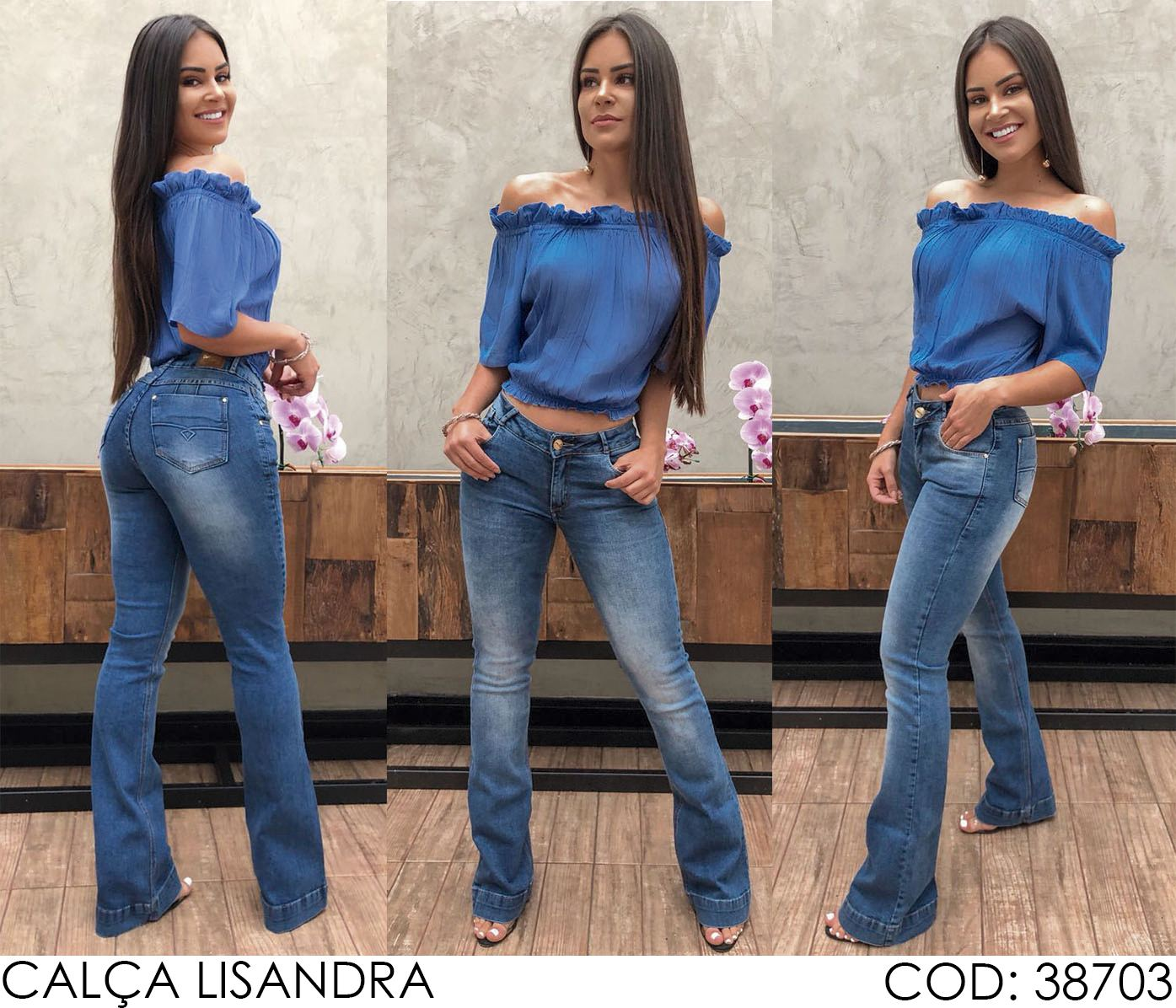 Calça Jeans Darlook Lisandra [38703]