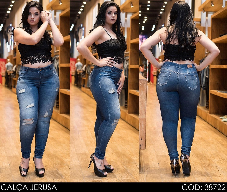Calça Jeans Darlook Jerusa [38722]
