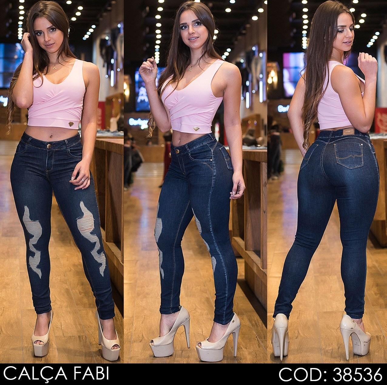 Calça Jeans Darlook Fabi [38536]