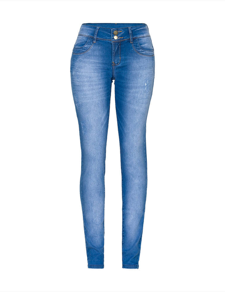 Calça Jeans Skinny Feminina Fact Jeans [03259]