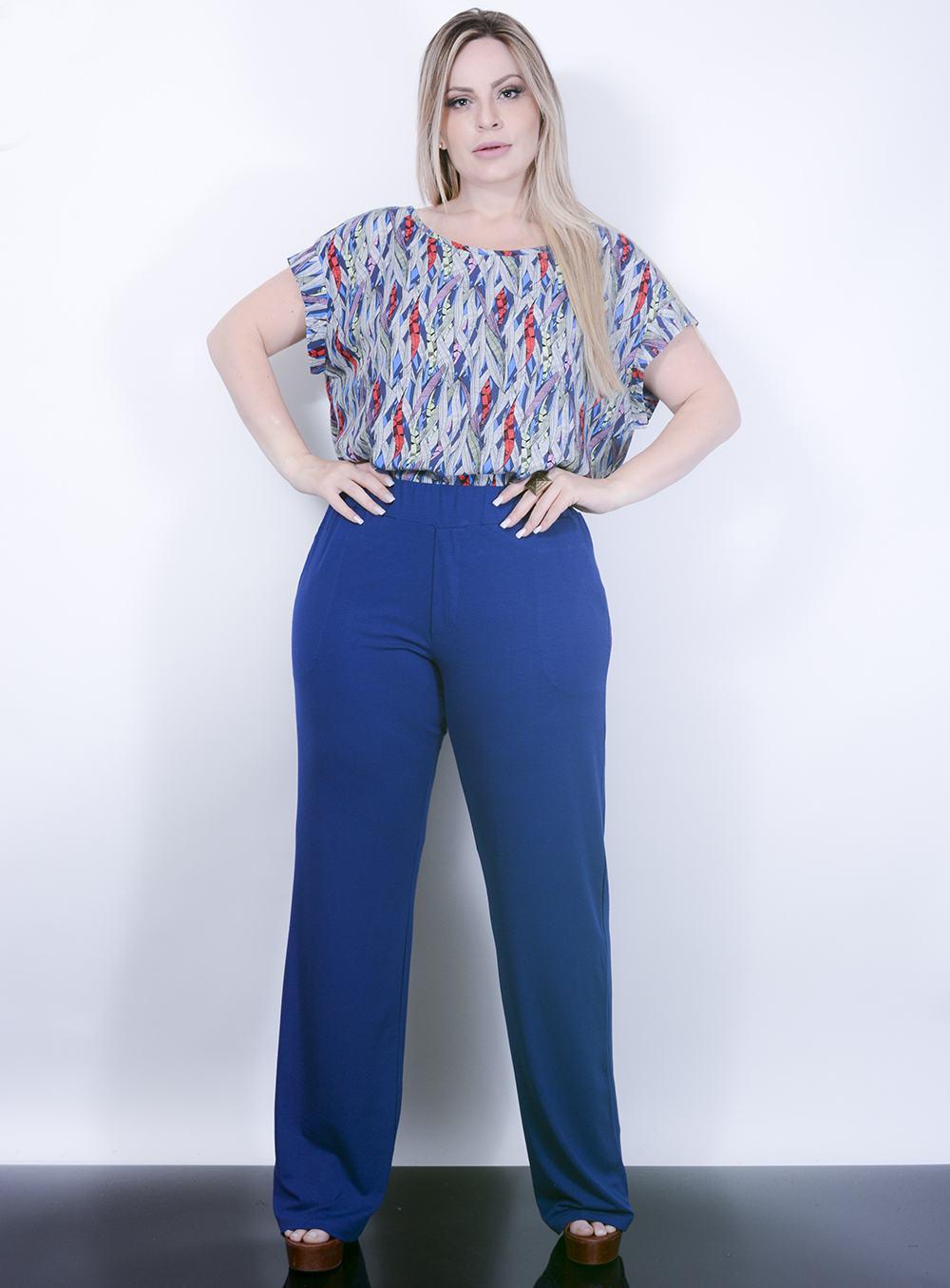 807146b9a7 Calça Pantalona Plus Size Online
