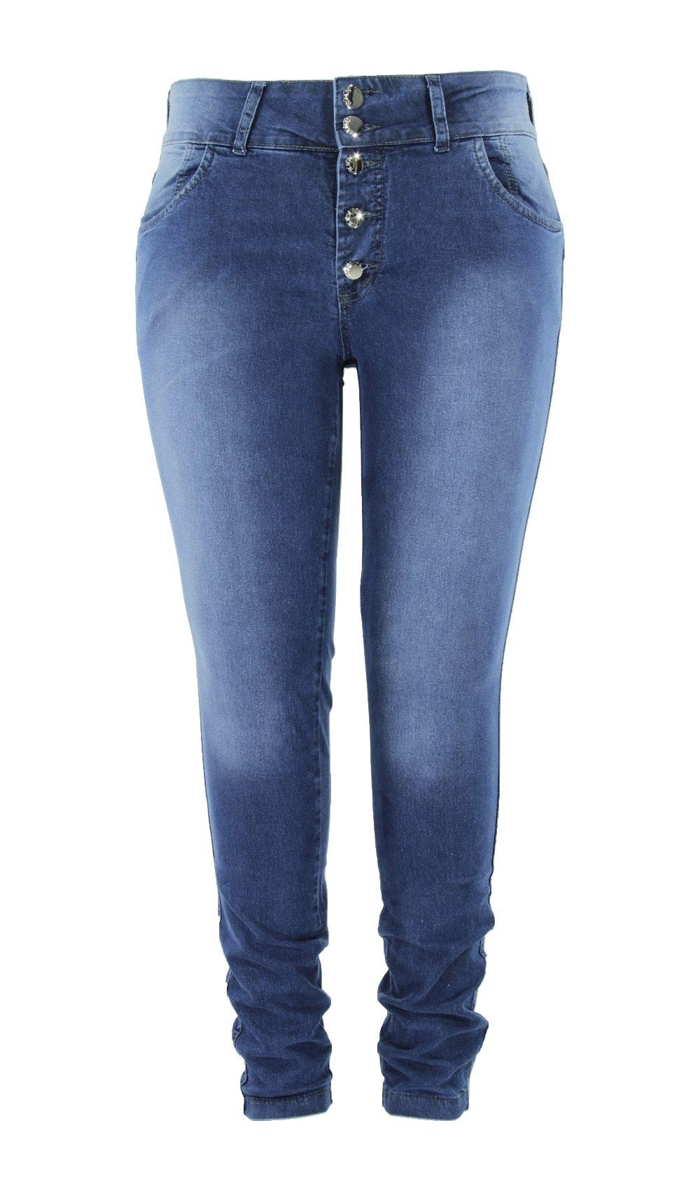 Calça Skinny Eruption Jeans ref. 5611STO