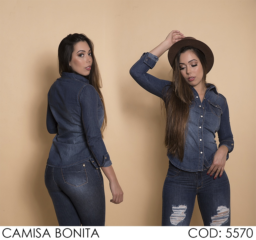 Camisa Darlook Bonita [5570]