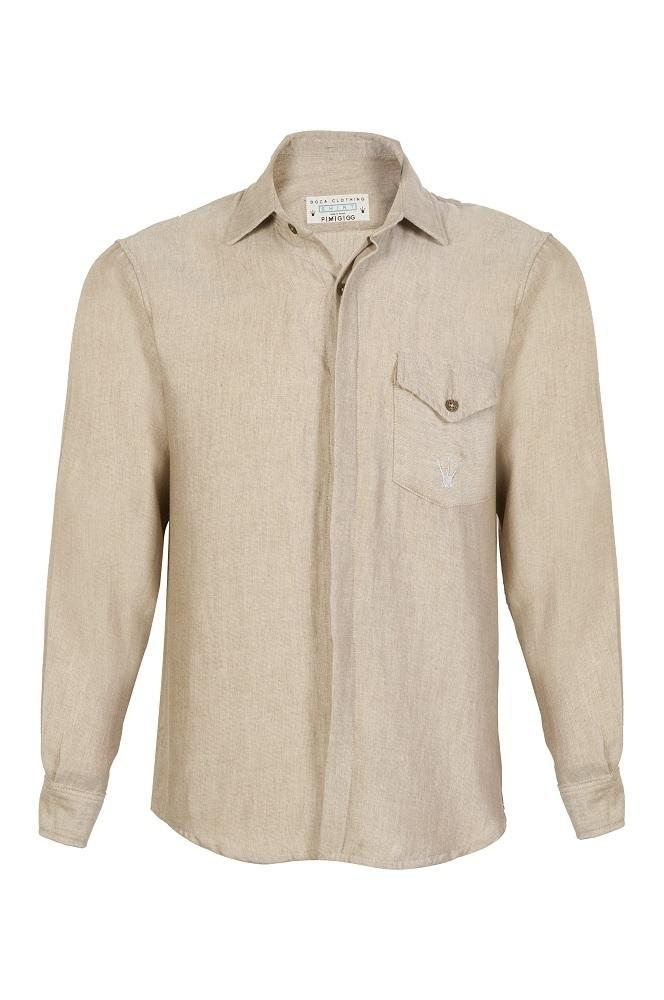 Camisa Lingo Golden