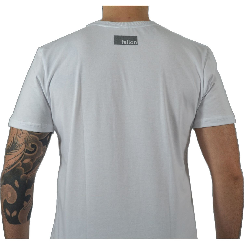 e07bf43c8 Camiseta Masculina Fallon   Co. Iron Head Branca