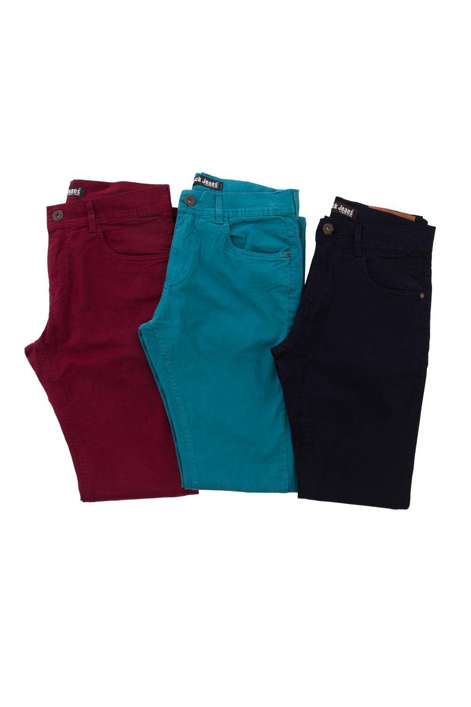 Calça Masculina Black Jeans Sarja - R$79,99 - [BLACK143]
