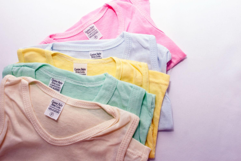 Kit 5 Camiseta Manga Curta Básico - Menina