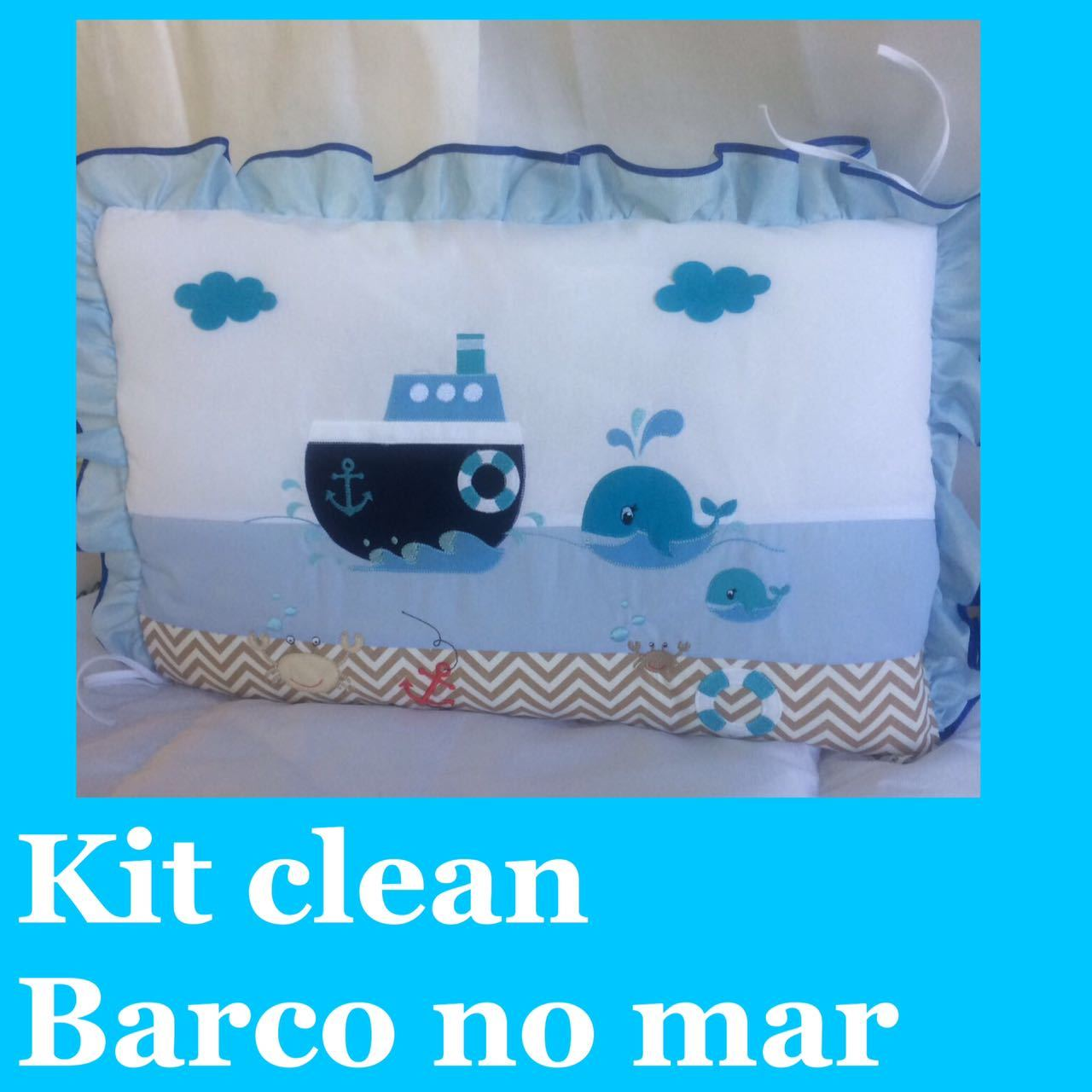 Kit Clean Barco no Mar