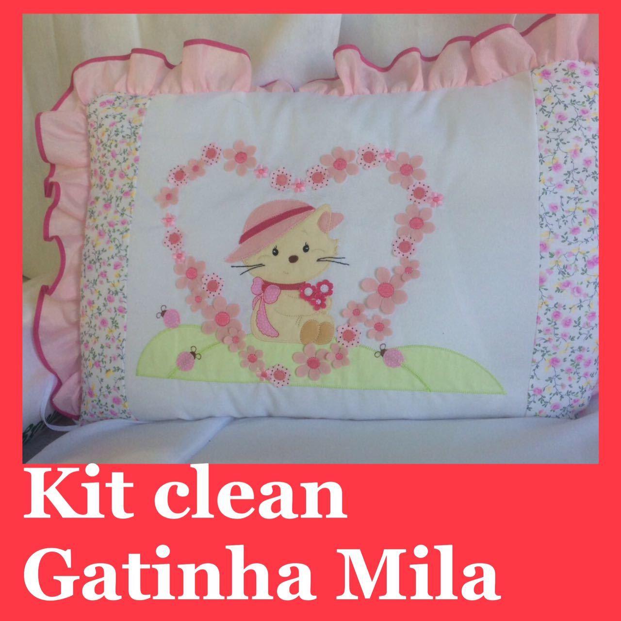 Kit Clean Gatinha Mila