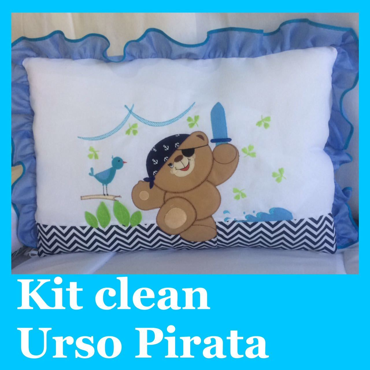 Kit Clean Urso Pirata