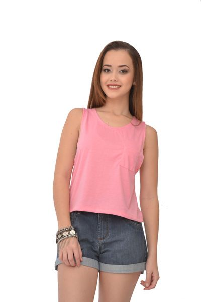 Regata Cropped Urban Lady Rosa