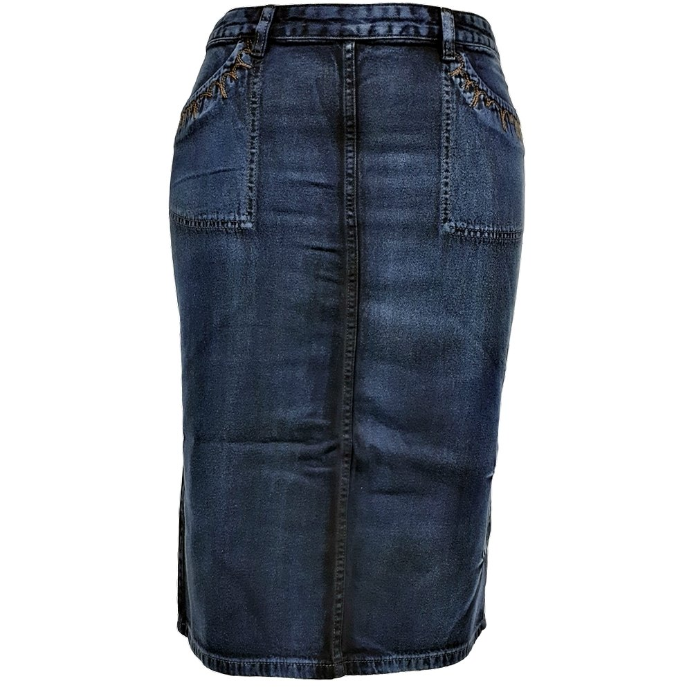 Saia Comprida Eruption Jeans EX10