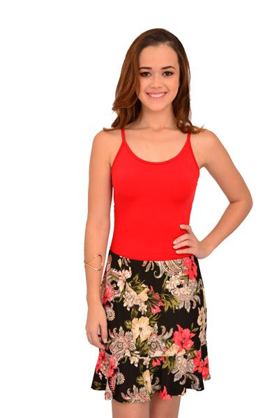 Saia Curta Urban Lady Estampada