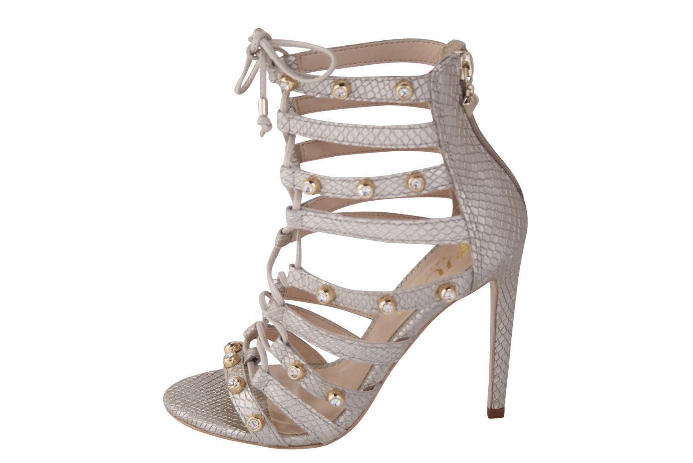 Sandália Conceito Fashion Couro Napa Off White