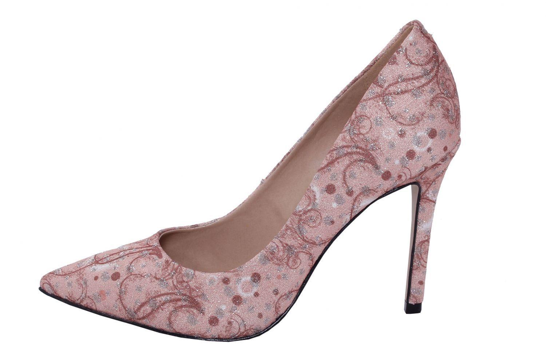Scarpin Conceito Fashion Lunar Prata