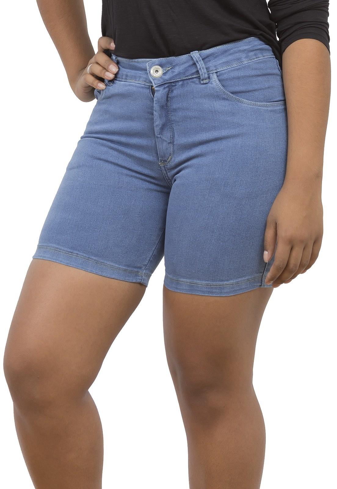 Shorts Dinho's Jeans Basico Delave [1876]
