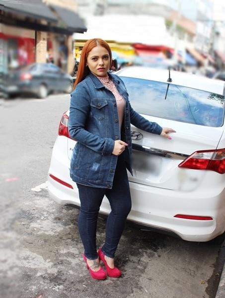 Jaqueta Dinho´s Jeans Maxi Patria(2504)