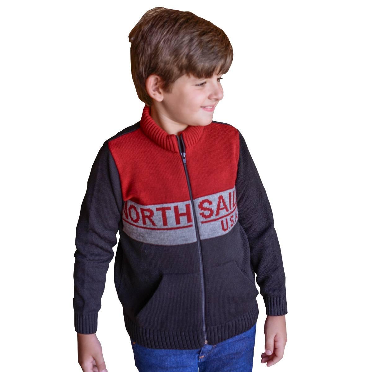 Jaqueta Infantil Blusa De Frio para Menino