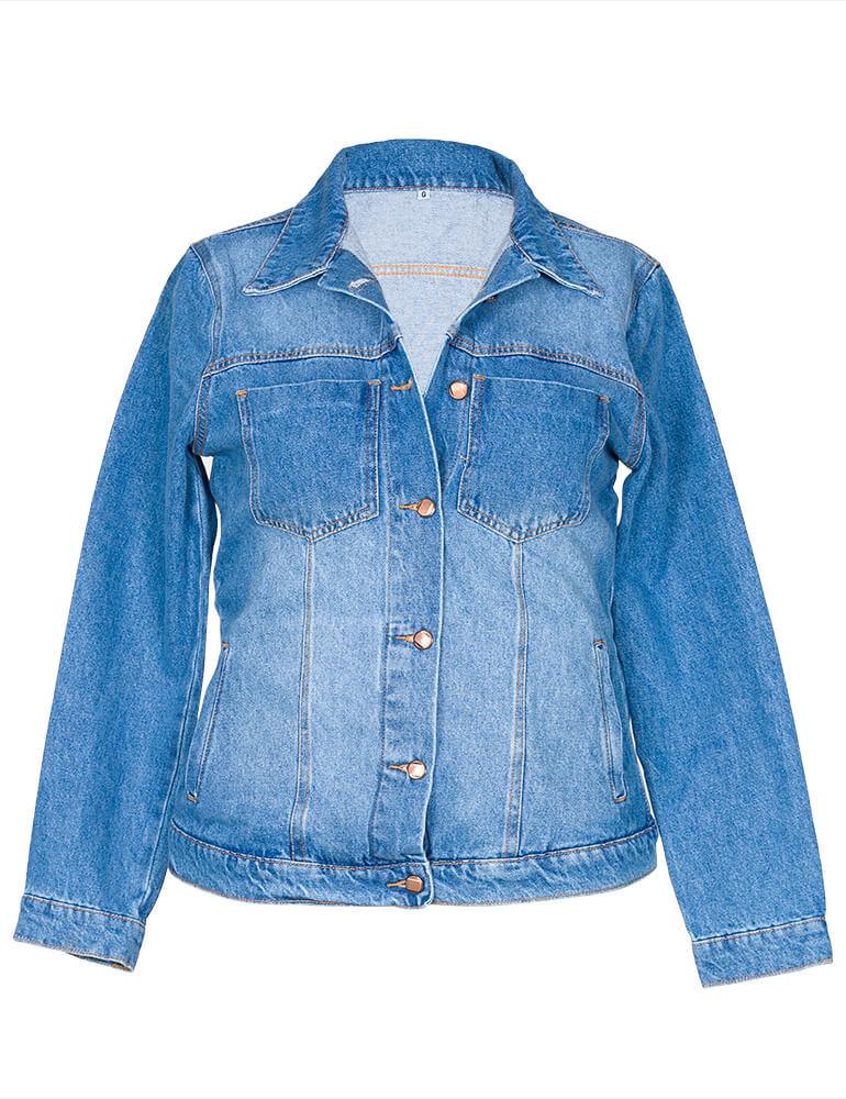 Jaqueta Jeans Feminina [03551]