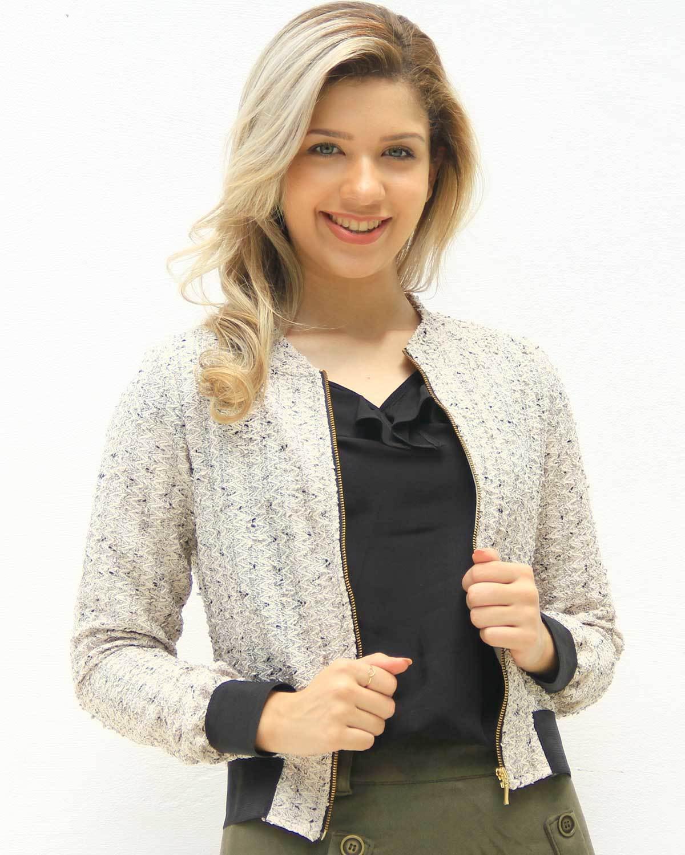Jaqueta Tweed Tayla