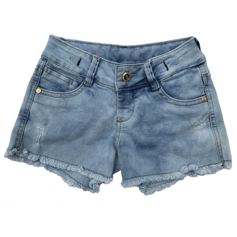 Shorts Jeans Infantil Menina [409]