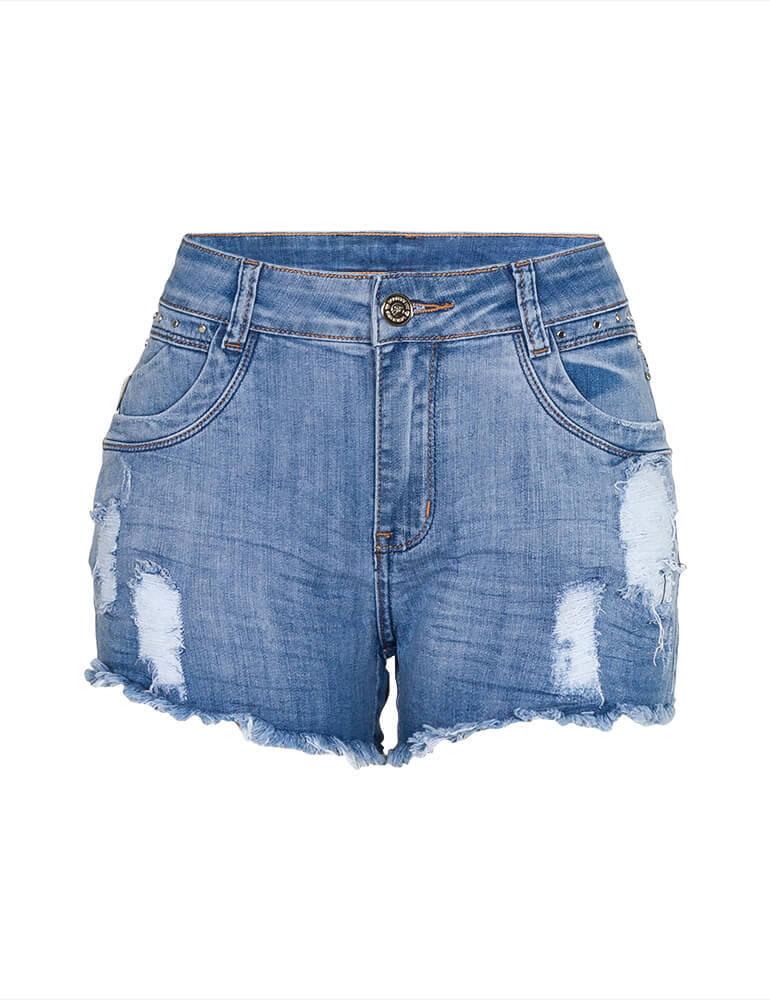 Shorts Feminino Fact Jeans [3787]