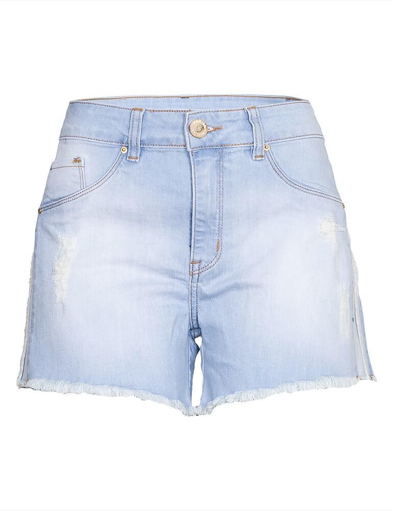 Shorts Feminino Fact Jeans [3844]
