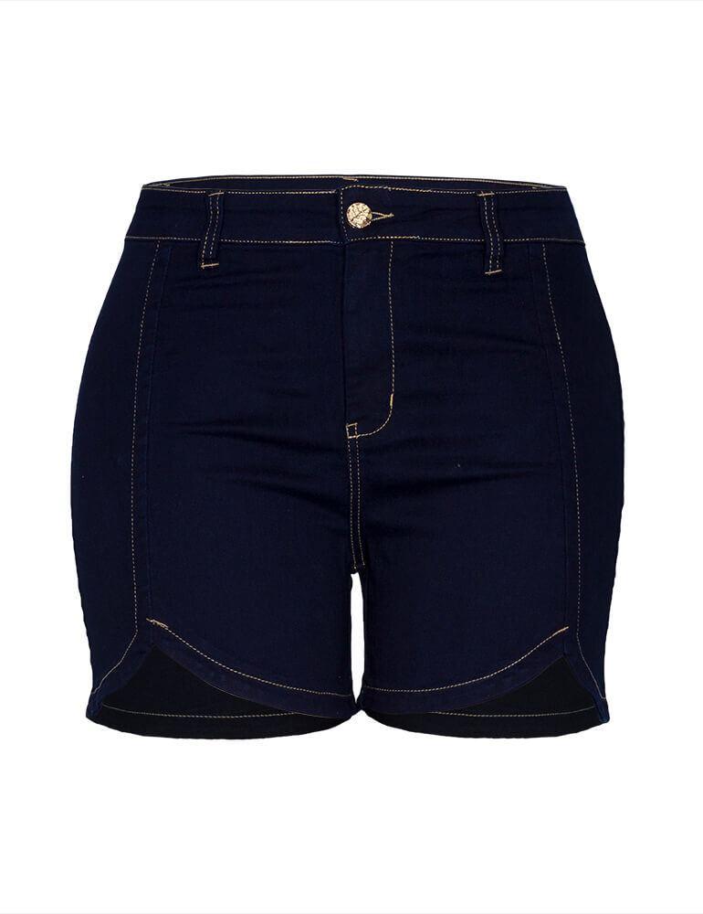 Shorts Feminino Fact Jeans Plus Size [3515]