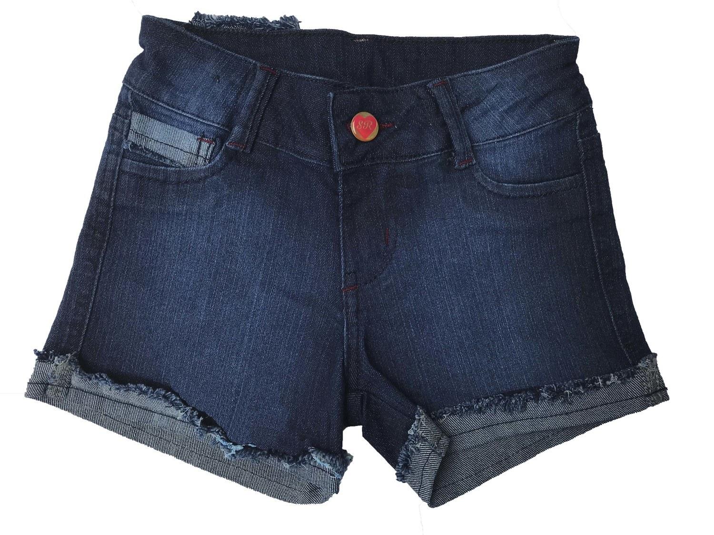 Shorts Feminino Jeans Infantil [404]