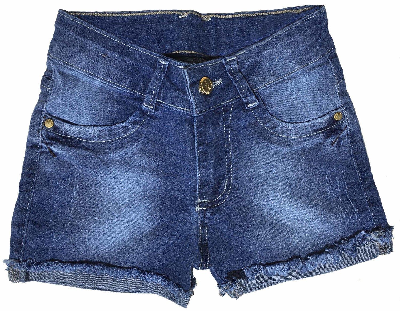 Short Feminino Jeans Infantil [602]