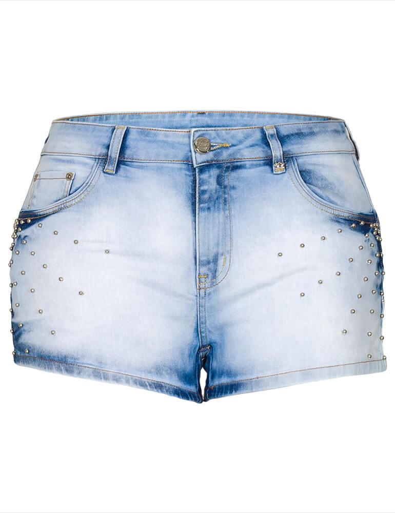 Shorts Jeans Feminino Fact Jeans ref. 03508