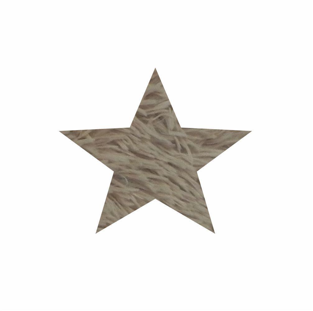 Tapete 1,00X1,00 Estrela  Para Sala  Para Salafelpudo  Cores Diversas [1351]
