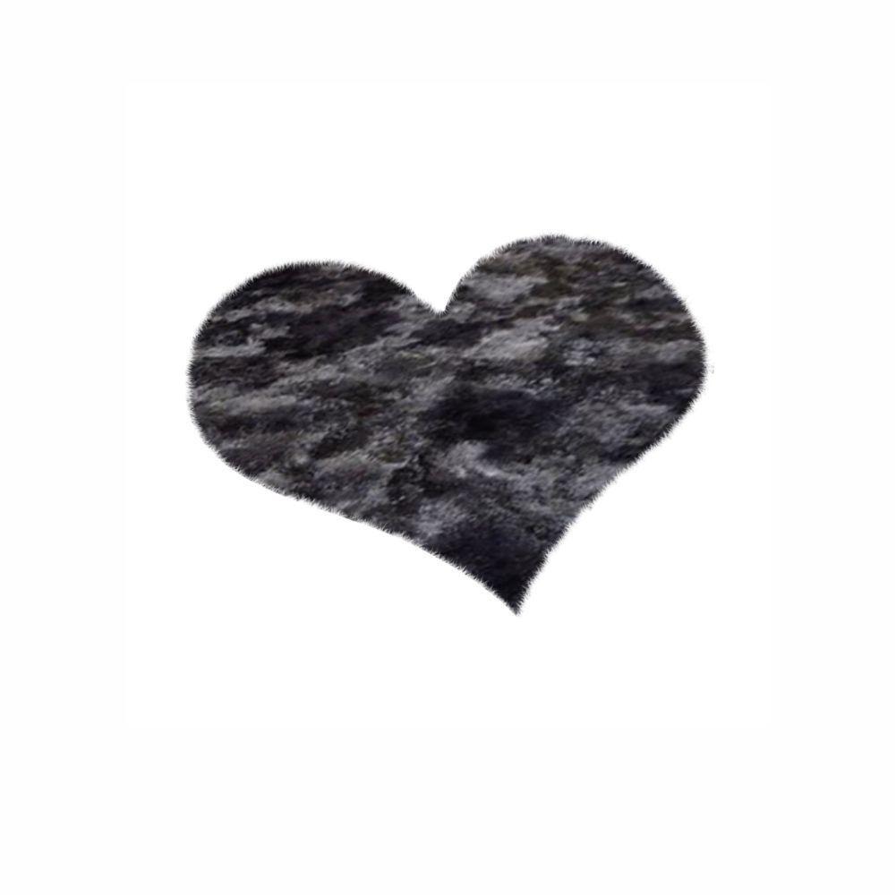 Tapete 4,00X4,00 Coração Para Sala Felpudo  Cores Diversas [1345]
