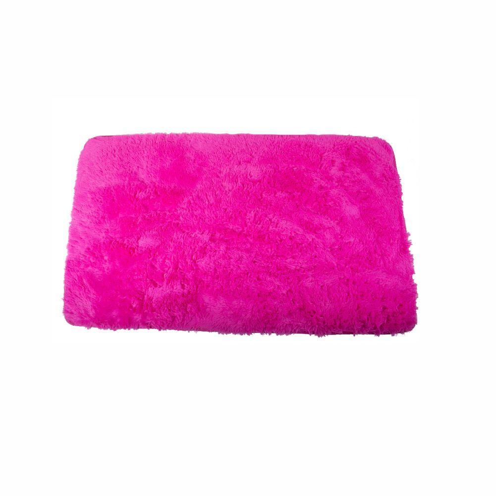 Tapete Felpudo Rosa Pink Liso   5,00X5,00 Quadrado [2259]
