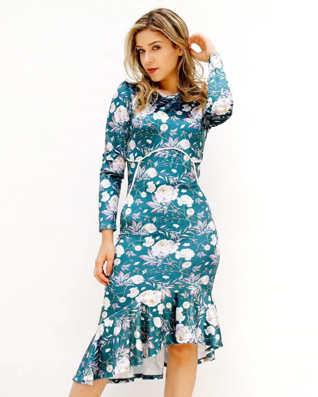 Vestido De Veludo C/ Renda Amanda