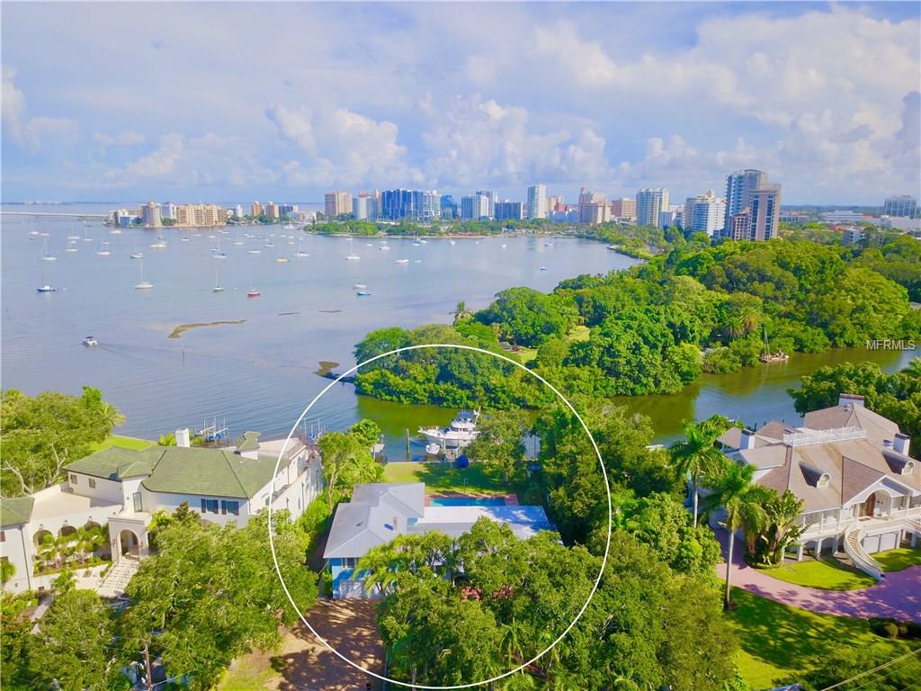Sarasota Lot For Sale at 1479 Bay Point Dr Sarasota Florida 34236