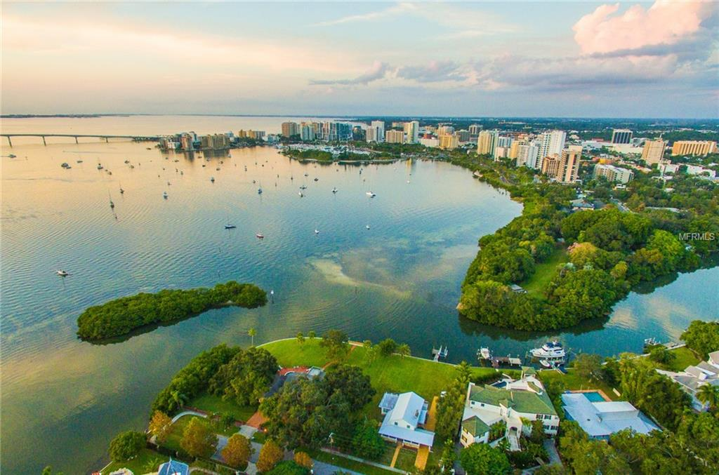Sarasota Lot For Sale at 1433 Bay Point Dr Sarasota Florida 34236