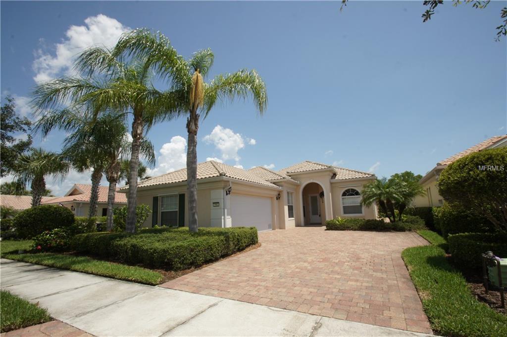 Single Family Home 5961  ROSETO PLACE , SARASOTA for sale - mls# A4205862