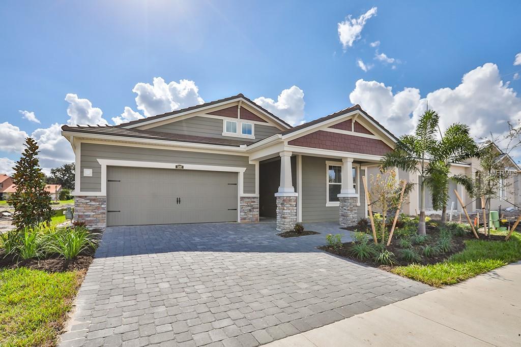 Single Family Home 5897  LONG SHORE LOOP , SARASOTA for sale - mls# T3140113