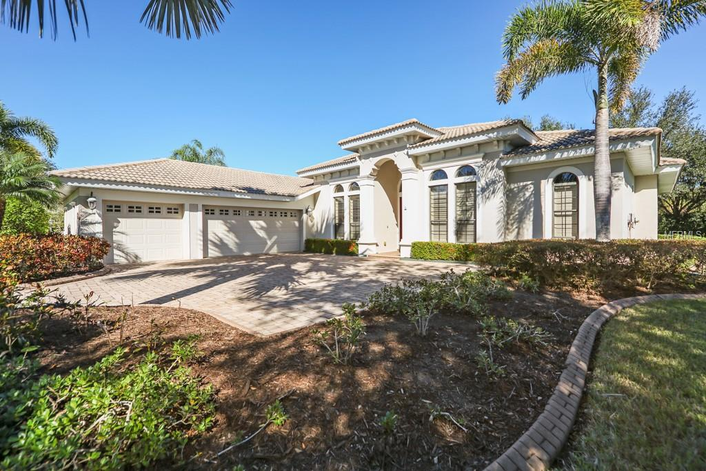 Single Family Home 7829  CREST HAMMOCK WAY , SARASOTA for sale - mls# A4421087