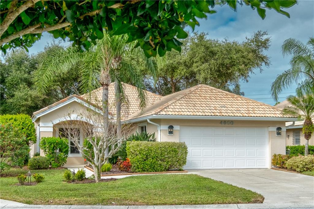 Single Family Home 4600  DEER TRAIL BOULEVARD , SARASOTA for sale - mls# A4422275