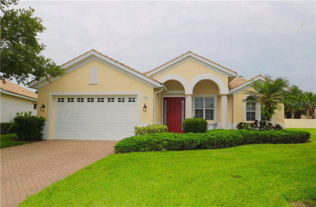 Single Family Home 5098  FABERGE PLACE , SARASOTA for sale - mls# A4435355