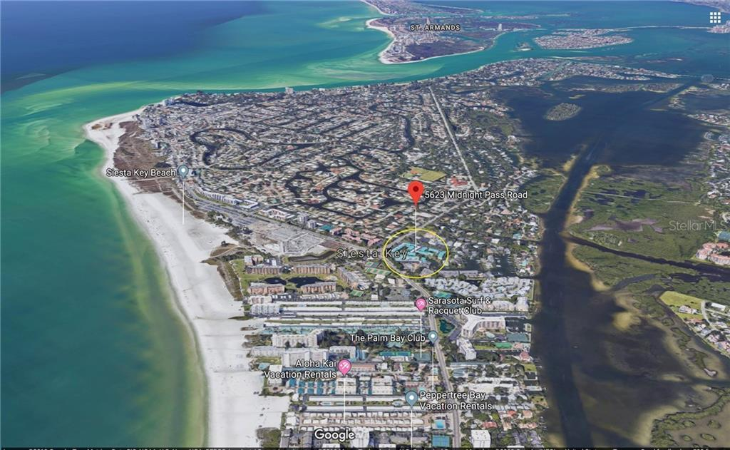 Condo 5623  MIDNIGHT PASS ROAD , SARASOTA for sale - mls# A4444532