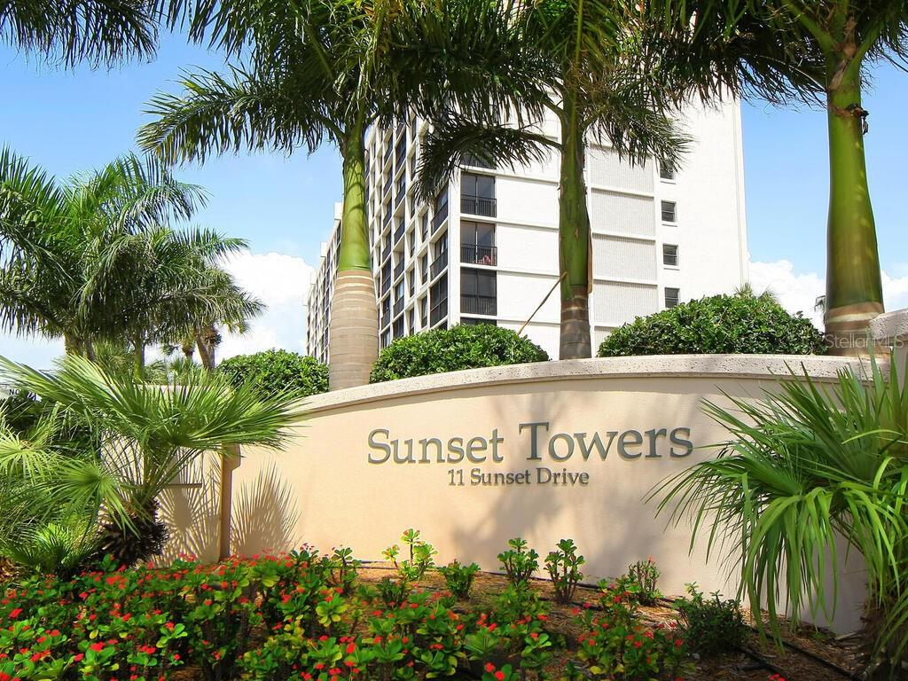 Condo 11  SUNSET DRIVE , SARASOTA for sale - mls# A4483161