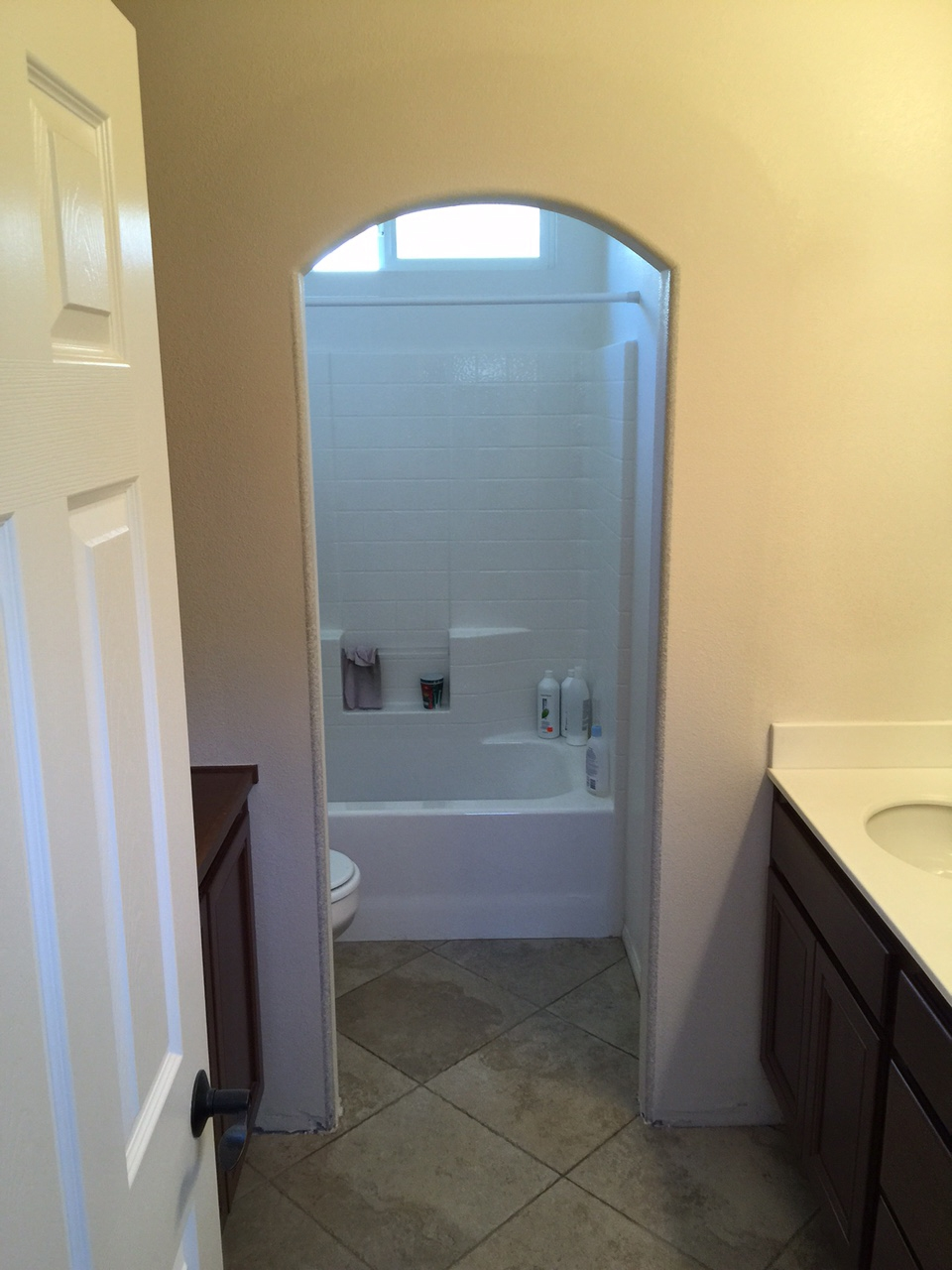 Arched Bathroom Door Ideas