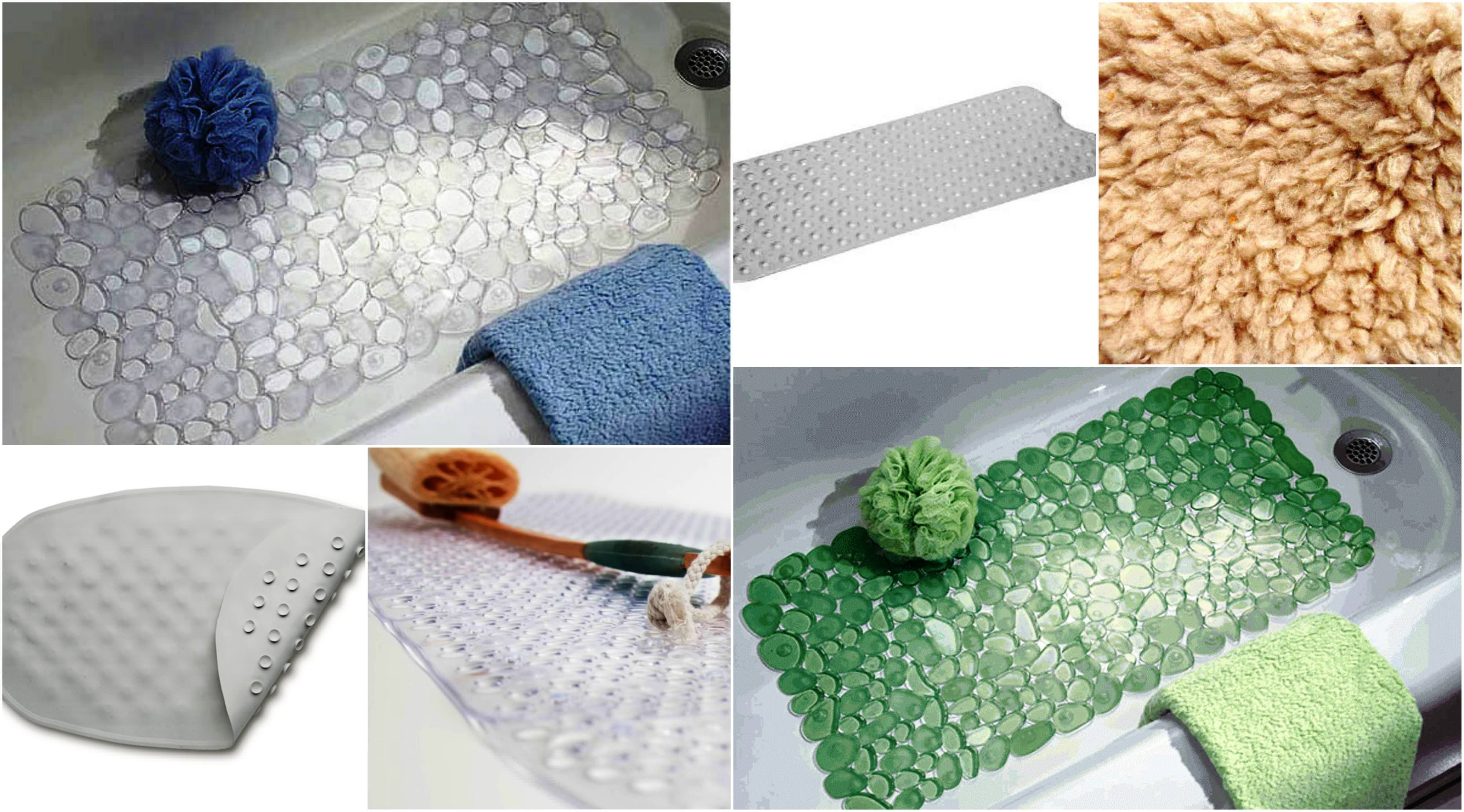 Bath Mat For Textured Tub Surface