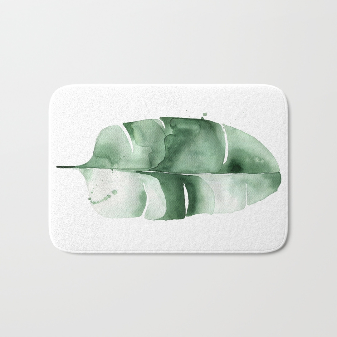 Permalink to Bath Mat New Leaf