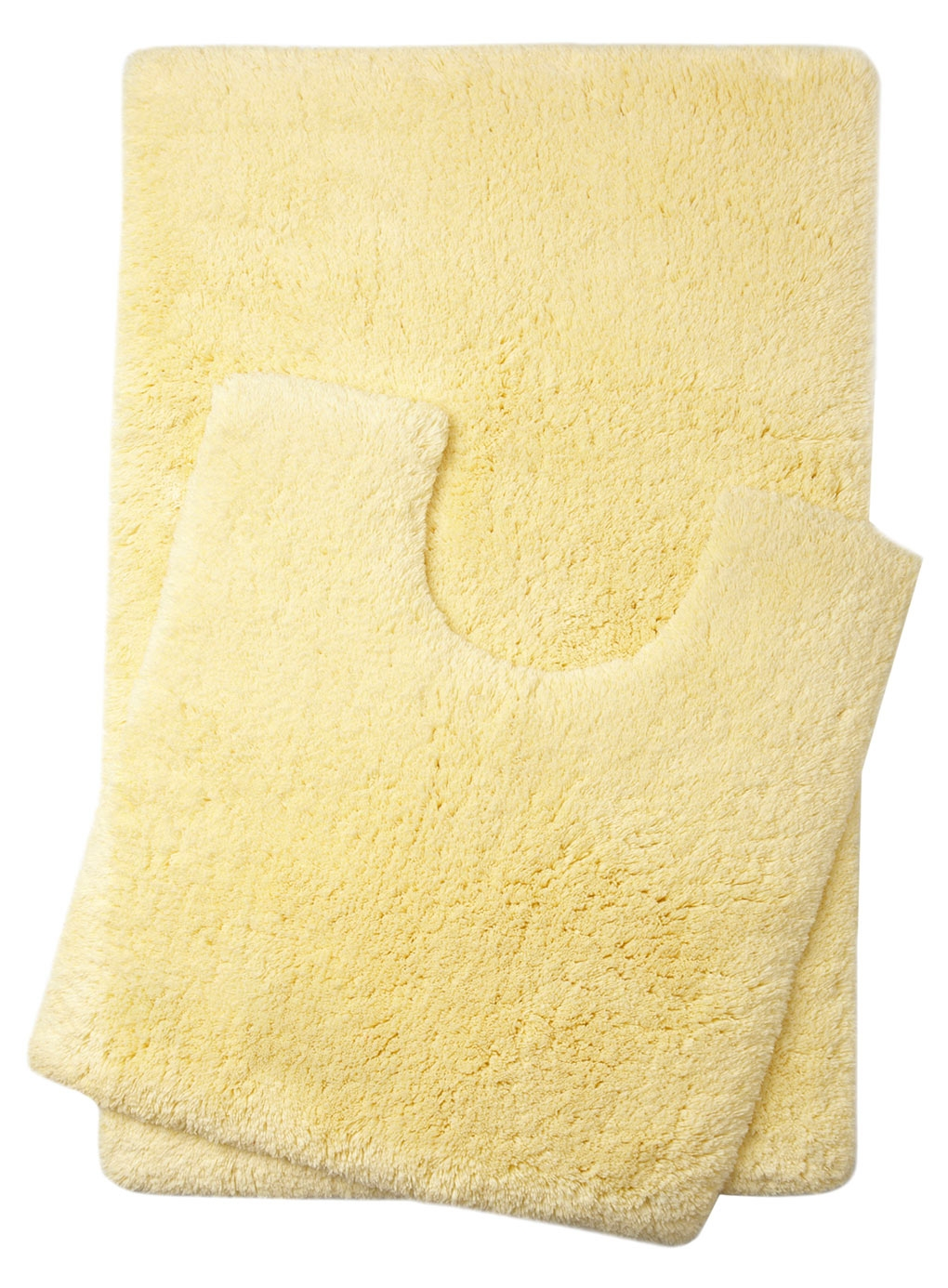 Bath Mat Set Yellow